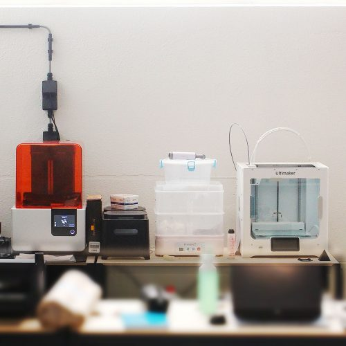 Wearables Lab 3D printers