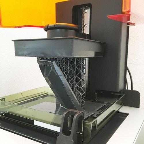 3D printer close-up