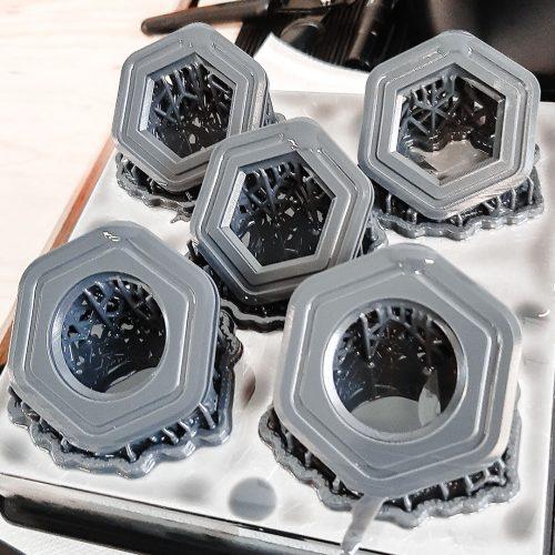 3D printed components