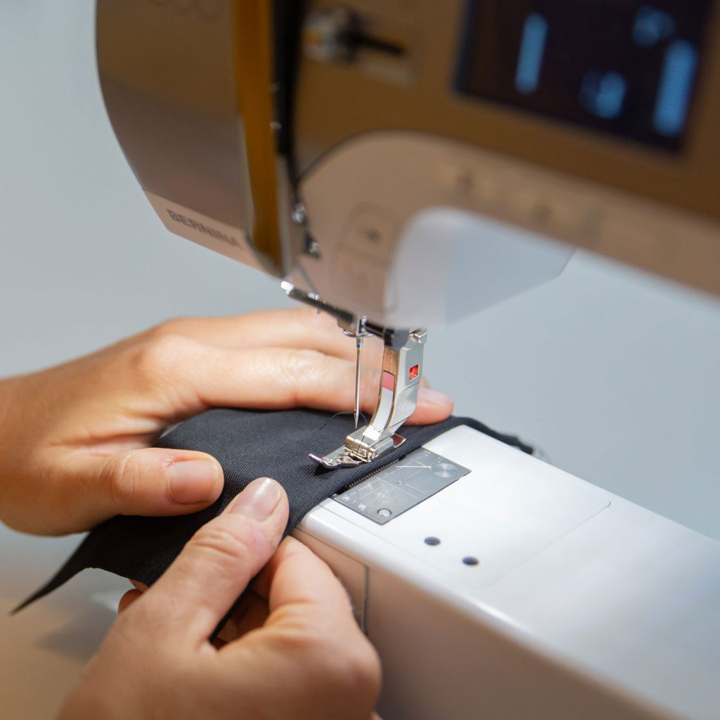 Wearables Lab sewing
