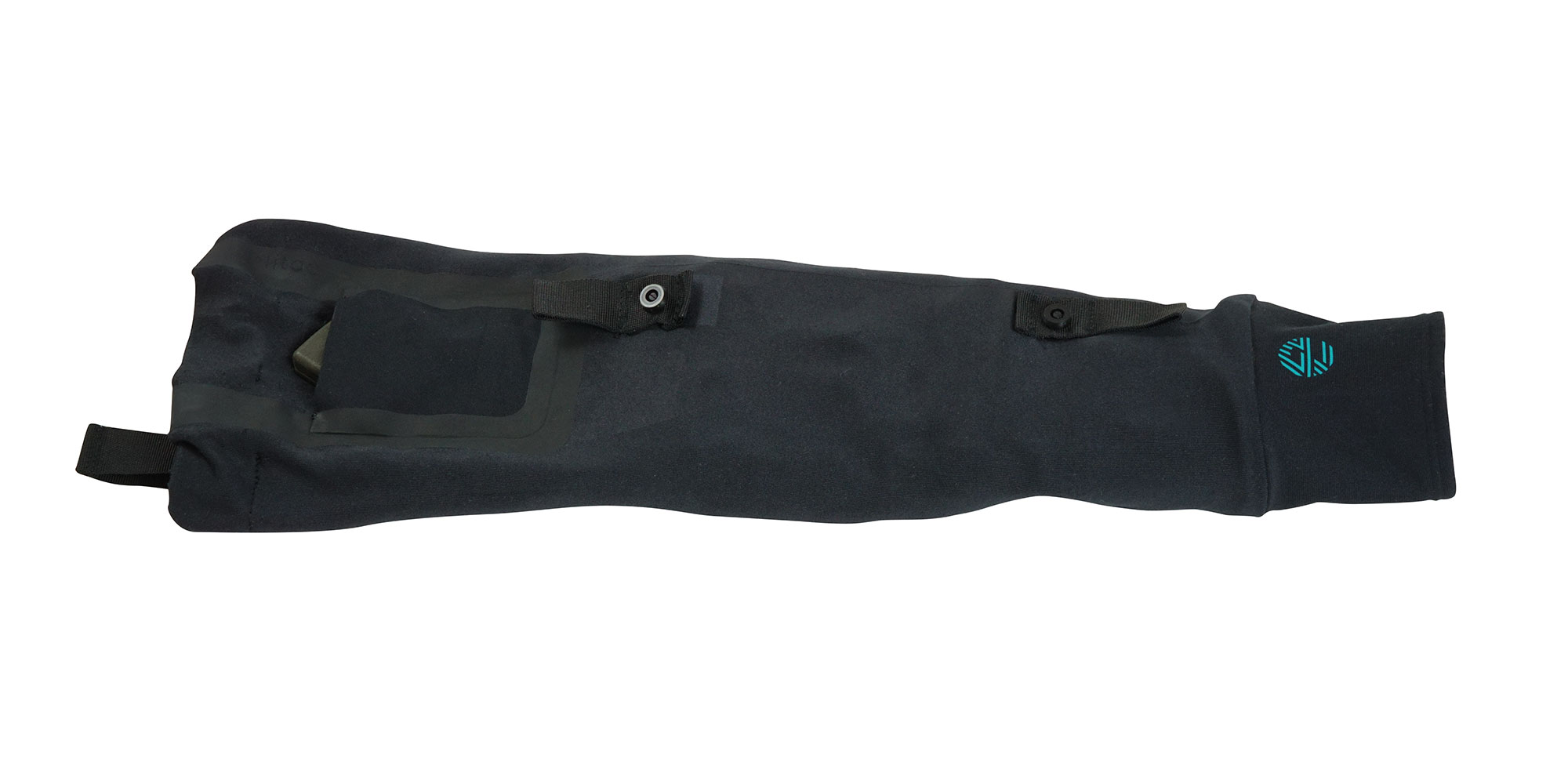 Haptic feedback sleeve lying flat